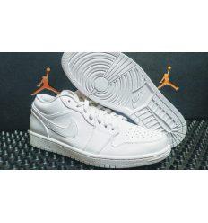 Jordan Retro 1 low white