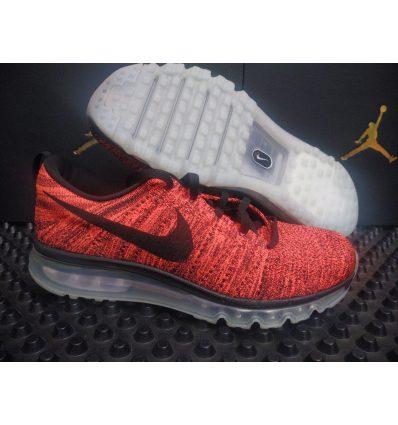 Nike Flyknit Max красные (без коробки)