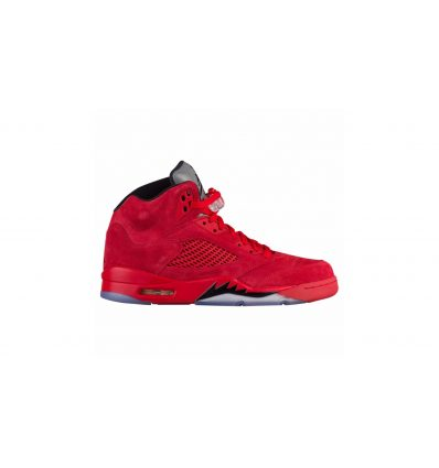 "JORDAN RETRO 5 ""RED SUEDE"""