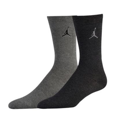 Носки Jordan Heathered Crew 2 Pack