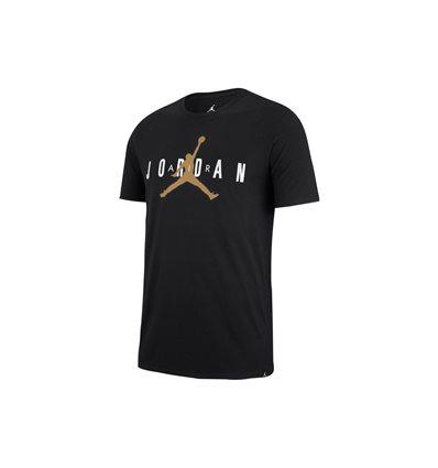 Детская Футболка Jordan Jumpman Air черная с золотым