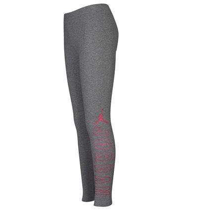 Женские Леггинсы Jordan Shine Stretch серо-розовые