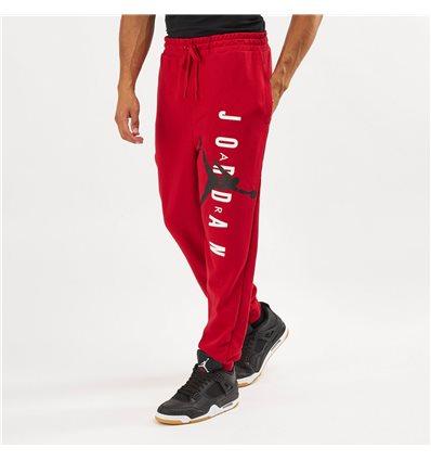 Штаны Jordan Jumpman Air Lightweight красные