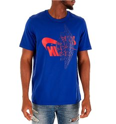 Футболка Jordan Futura Wings синяя