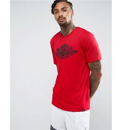 Футболка Jordan Graphic красная